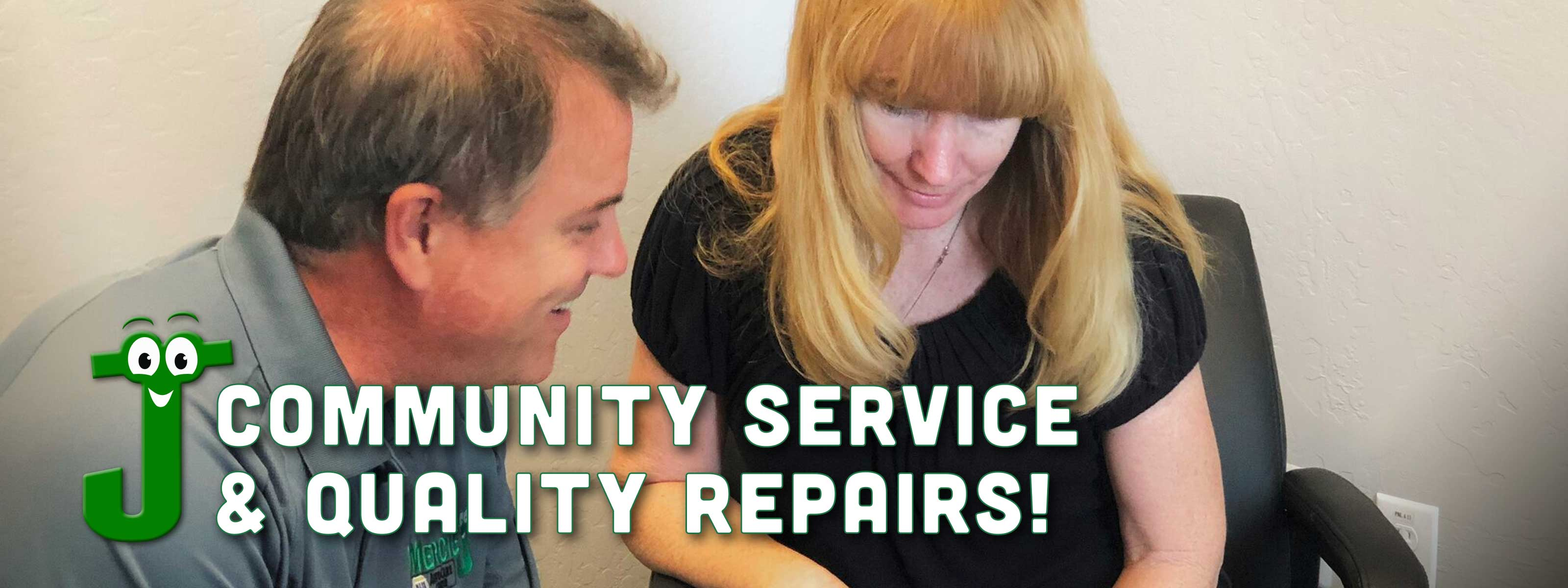 Community service and quality repairs
