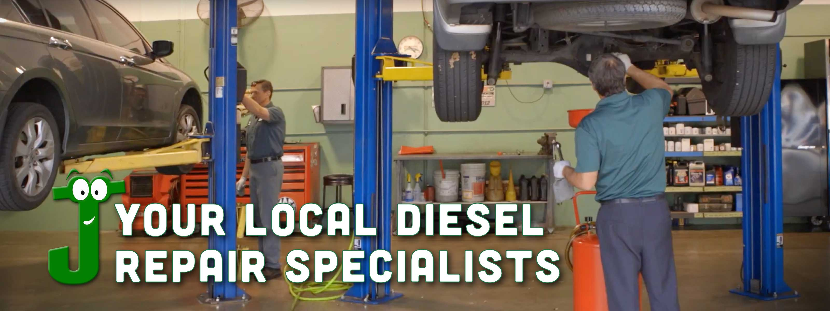 Your local diesel repair specialists